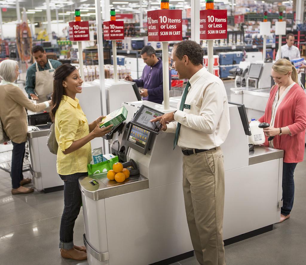 Aplicación supermercado